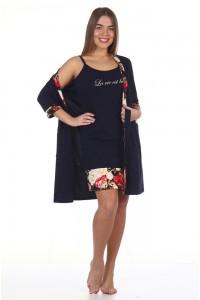 Комплект Изабелла сорочка и халат