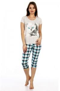Пижама Голубоглазка (бриджи)